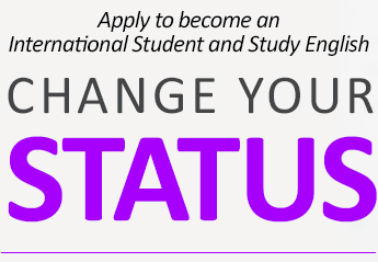 Learn English - International Student | Change your Status