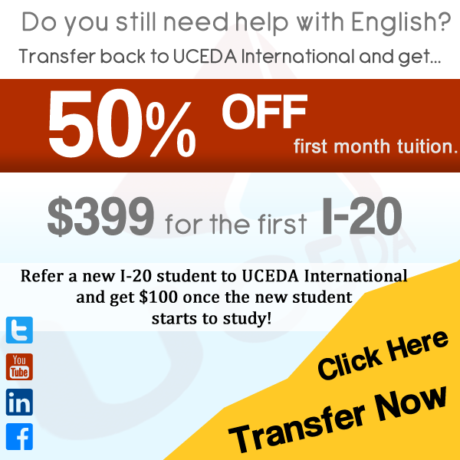 UCEDA - Learn English Fast | Transfer Today